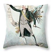 Thomas Paine (1737-1809) Throw Pillow
