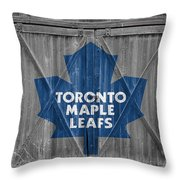 Toronto Maple Leafs Throw Pillow