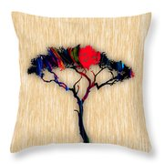 Tree Wall Art Throw Pillow