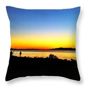 Sunset IIi Throw Pillow