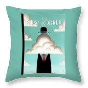 New Yorker May 14th, 2012 Throw Pillow