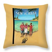 New Yorker July 23rd, 2012 Throw Pillow