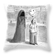New Yorker September 26th, 2016 Throw Pillow