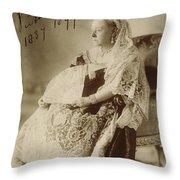 Victoria Of England (1819-1901) Throw Pillow