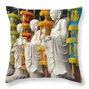 Vietnamese Temple Shrine Throw Pillow