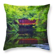 Washingtonville Ny Throw Pillow