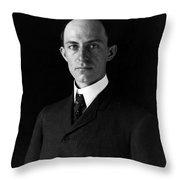 Wilbur Wright (1867-1912) Throw Pillow