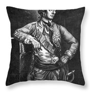 William Howe (1729-1814) Throw Pillow