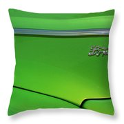 40 Ford - Side Logo-8677 Throw Pillow