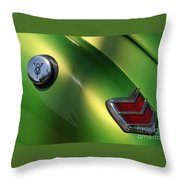 40 Ford - Tank N Tail Light-8527 Throw Pillow