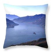 Lake Maggiore Throw Pillow