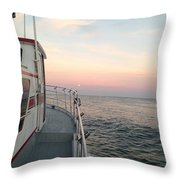 40 Out Throw Pillow
