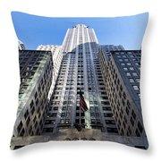 405 Lexington Avenue Throw Pillow