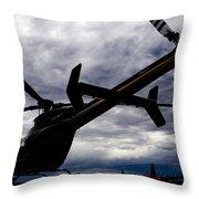 407 Clouds Throw Pillow