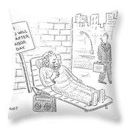 New Yorker September 4th, 2006 Throw Pillow