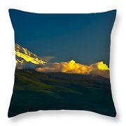 41010-91 A Mt Hood Sunset Throw Pillow
