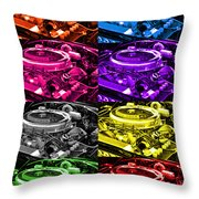 426 Hemi Head Pop Throw Pillow