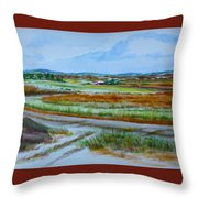 43. Gettysburg - The Land Remembers Throw Pillow