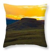 430 Am Sun Rise Throw Pillow