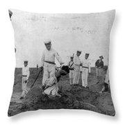 China Boxer Rebellion Throw Pillow