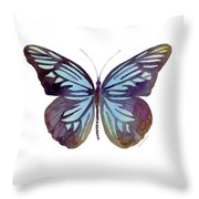 45 Pareronia Tritaea Butterfly Throw Pillow by Amy Kirkpatrick