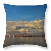 46- Storm Front Throw Pillow