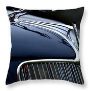 Classic Ford Detail Throw Pillow