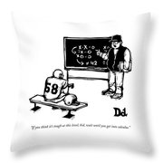 If You Think It's Tough At This Level Throw Pillow