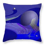463 - City Of Future 4   Throw Pillow