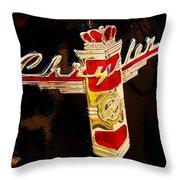 47 Packard Logo Throw Pillow