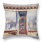 471 West Broadway Soho New York City Throw Pillow
