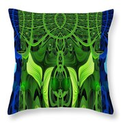 479 - Secret Dwellers In The Woods Throw Pillow
