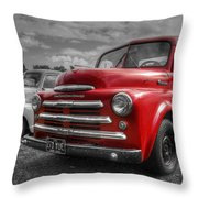 48' Dodge Fargo Throw Pillow