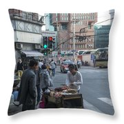 4863 Throw Pillow