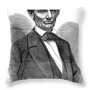 Abraham Lincoln (1809-1865) Throw Pillow