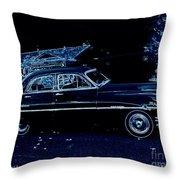 49 Packard Survived Throw Pillow