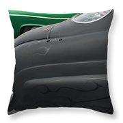 49 Sled Throw Pillow