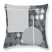 49th Shade Of Gray Throw Pillow