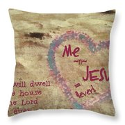 4ever Throw Pillow
