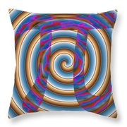 4Pi Throw Pillow