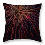 4th July #12 Throw Pillow