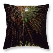 4th July #2 Throw Pillow