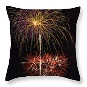 4th July #3 Throw Pillow