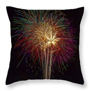 4th July #6 Throw Pillow