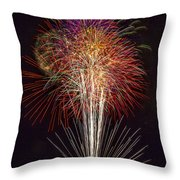 4th July #7 Throw Pillow