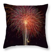 4th July #8 Throw Pillow