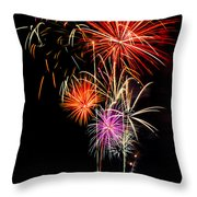 4th Of July 2012 Throw Pillow