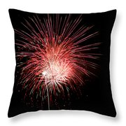 4th Of July 8 Throw Pillow