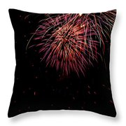 4th Of July 9 Throw Pillow