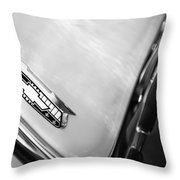 1955 Chevrolet Belair Emblem Throw Pillow